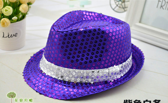 Bling Bling fedora hats wholesale