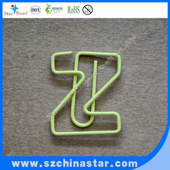 different kinds of letter z shaped paper clip