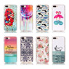 For iPhone 7 Case Unique Custom Painting 3D Sublimation DIY Crystal TPU Phone Cases Cover for iPhone 7 Plus