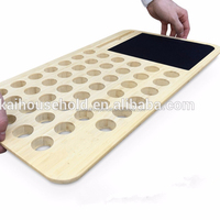 "Bamboo Mobile LapDesk with Mousepad(For 15"" Laptops)"