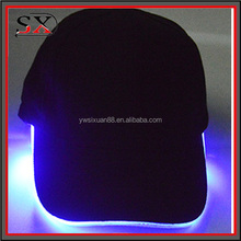 OEM your own design custom outdoor LED hat and LED cap / baseball caps