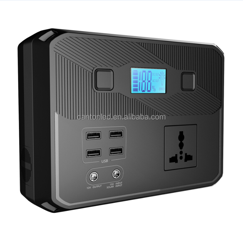 Solar Energy Storage System 12V transfer 110V/220V Energy Power Station back up Power