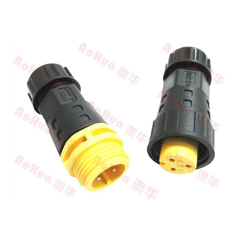 Outdoor Cable 3 Way Electrical Rubber Connector Ip67 Waterproof ...