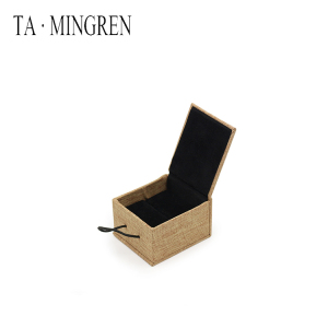 Wholesale High Quality Fashion Small Wooden Jewelry Box For Ring Jewelry Display Cases
