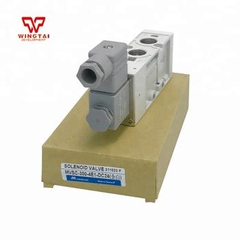 DC24V Mindman Pneumatic Solenoid Valve MVSC-300-4E1, View 24v ... on