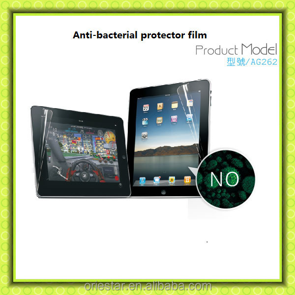 Healthy product anti bacterial film materials for screen protector