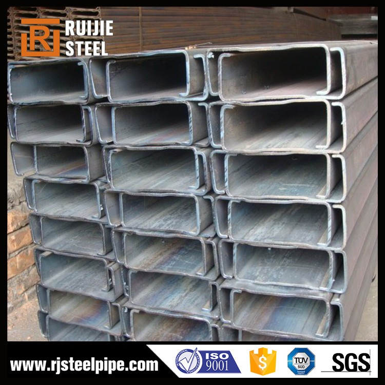 c 200*60*20*2.5mm, c channel steel bar,large span steel space frame structure warehouse