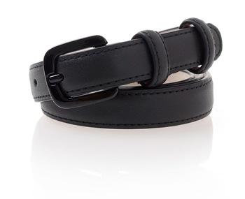 ef943fbfb women PU leather color black buckle belt men red golden PU belt girls  cowhide leather 2cm