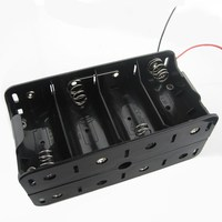 4 Aa Battery Holder,6v Holder Box Case,Battery Holder With Switch ...
