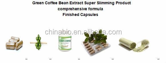 GMP Factory Supply Bulk Powder Green Coffee Bean Extract