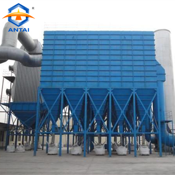 Pulse jet baghouse foundry drill dust collector