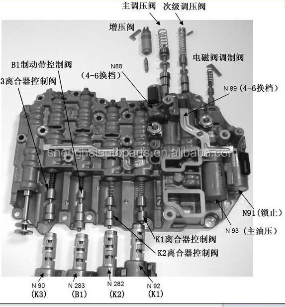 Aisin tf 60sn Transmission manual Jeep