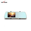 "HD 5"" Android Wifi car dvr rearview mirror GPS Navigation Monitor with Dash Cam DVR Backup Parking Reverse Camera"