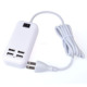 US/EU/UK/AU plug 6 Port USB desktop wall charger 5V 6A with line for tablet and phone/ON-OFF Power Switch travel charger