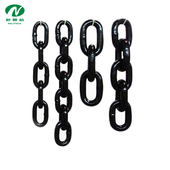 Rigging G80 polishing long link fishing chain