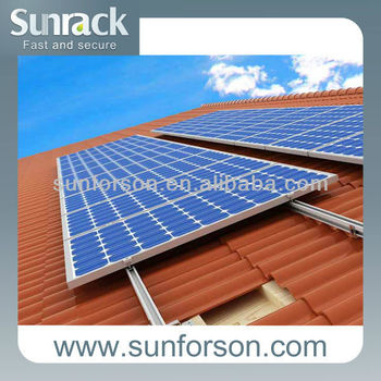 Fast Installation Solar Support Pitched Roof Buy Solar