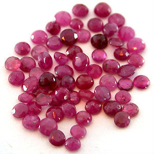 Natural Ruby in Loose Gemstones