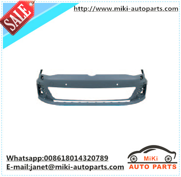for vw golf 7 gti plastic front bumper 5G0 807 217 GRU auto body parts