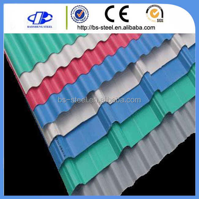 Galvanized Corrugated Zinc Roofing Sheets Corrugated Color Steel Roofing Sheets Of PPGI Steel With Model Yx15-225-900