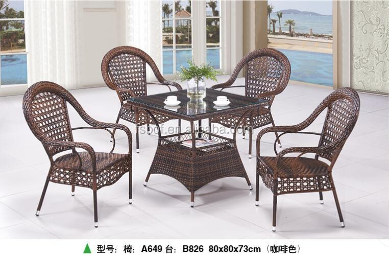 Sedie E Tavoli Da Giardino In Vimini.Usato Impilabile Vasca Verde Vimini Rattan Sedie Sulla Spiaggia