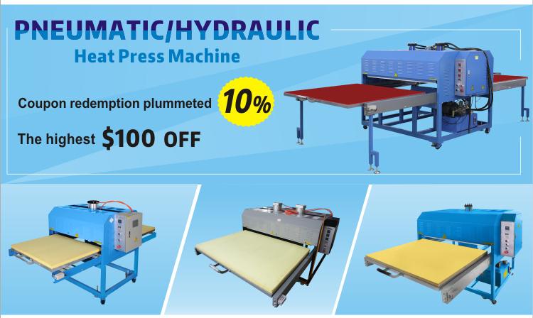 Автоматический пресс для передачи тепла для малых и высоких производственных заводов