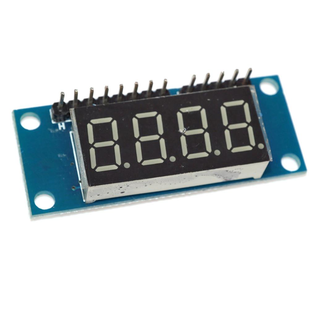 4-bits Tm1637 Red Digital Tube Led Display Module Clock For Arduino - Buy  Digital Tube Led,Led Display Module,Display Module Clock Product on