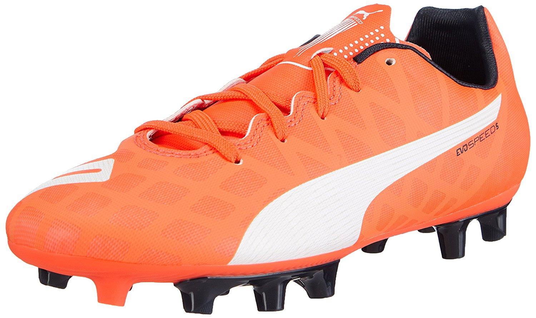 Buy Puma SR EVOSPEED 5 FG Boys Soccer Shoes Football 102595-06 U.S ... ee529da53