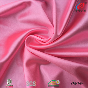 High quality polyester fabric elastic stretch jersey fabric for sportswear/underwear