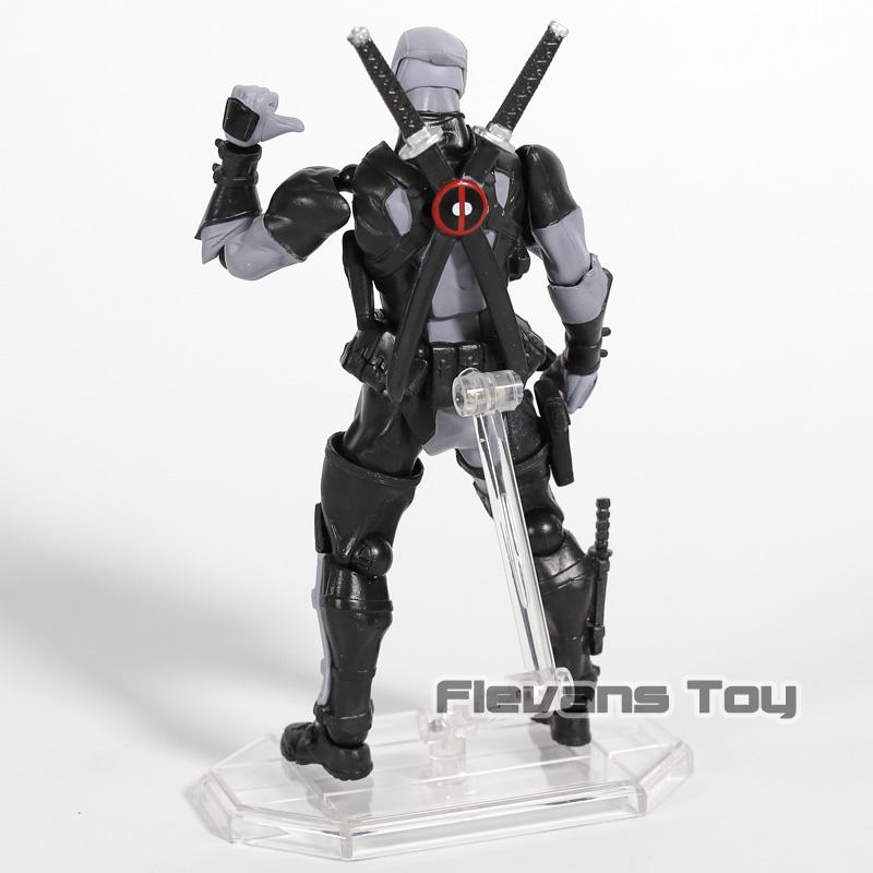 Étonnante Marvel Revoltech Deadpool X-Hommes Figurine Jouet Cadeau