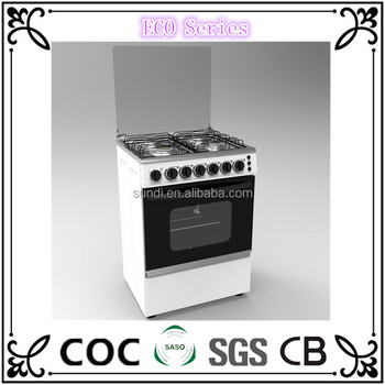 50 50 size standard domestic equipment cooking range free standing