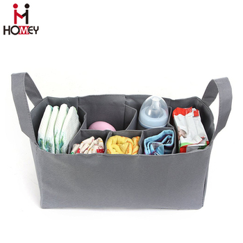 Baby Bag Organizer Diaper Divider Insert For Tote