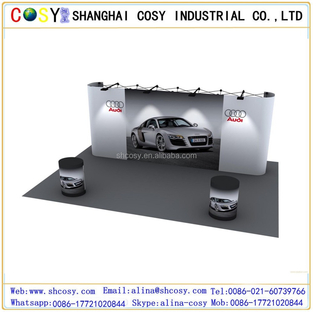 trade show pop up stand best selling display banner