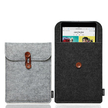 2017 New design Felt case Linner and storage bag for Kindle and for Ipad mini 2 3