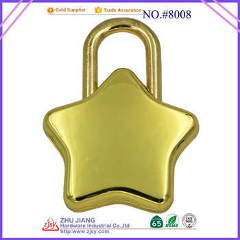 42mm Travel Star-shaped Key padlock