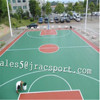 Anti-slip Synthetic PU sport court surface flooring basketball court floor paint