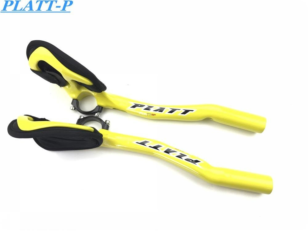 Full Road Bicycle Carbon Fiber TT Road Handlebar Rest Aero Handlebar Aero Carbon TT Bike Handlebar Handlebar TT Bar