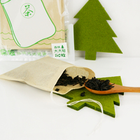 Easy use Customized tag drawstring empty unbleached filter paper tea bags for loose tea