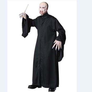 Adult Harry Potter Lord Of The Rings Voldemort Fancy Dress Costume Mens Book Week Halloween Costume QAMC-3460