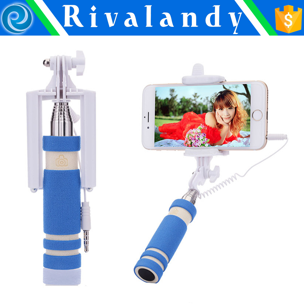 Removable assembly type 7 segments bluetooth selfie stick