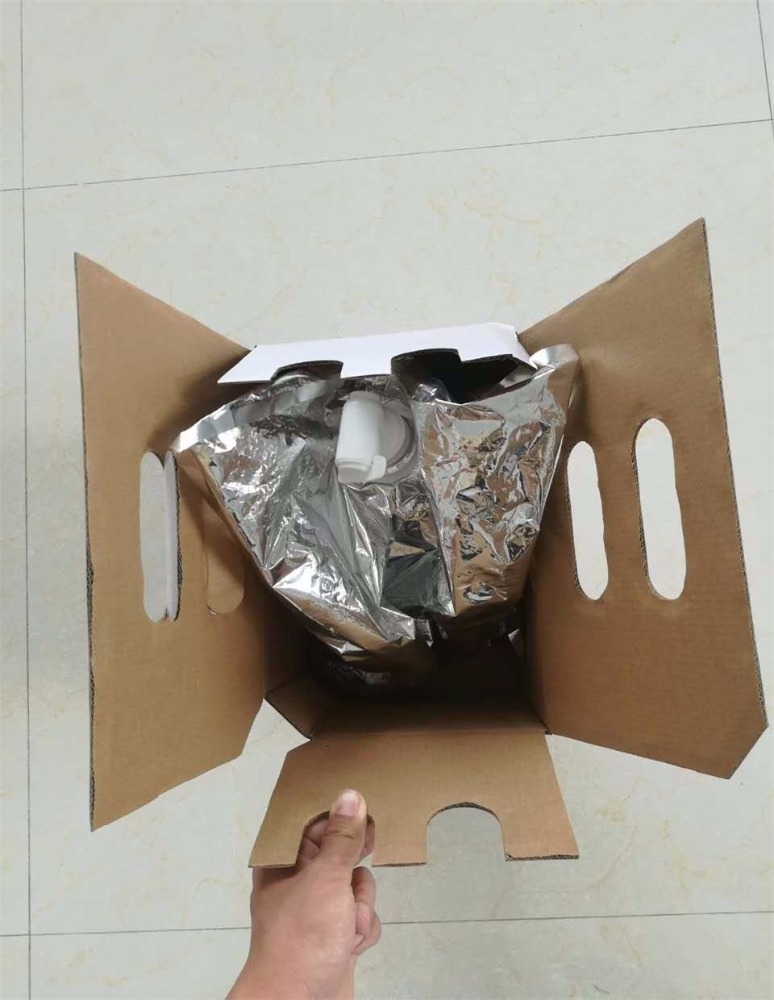 plain white color good bearing corrugated carton for water