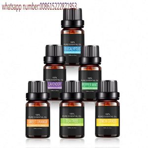 Naturals Top 8 Essential Oils 100% Pure Of The Highest Quality Essential Oils Peppermint, Tee Tree, Rosemary, Orange, Le
