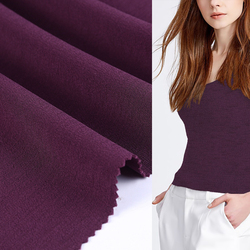 China supplier single jersey moroccan shirt cotton elastic fabric wholesale