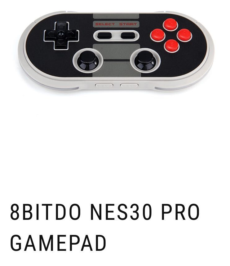 8BITDO NES30 PRO GAME PAD For PC Raspberry Pi USB Controller