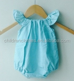 Fashionable baby clothing baby romper customization blue baby products