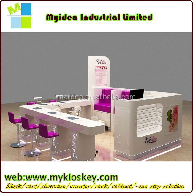 White Manicure Table Of Nail Salon Equipment For Sale - Buy Modern ...