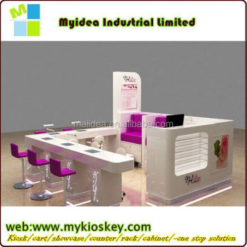 White manicure table of nail salon equipment for sale, View modern ...