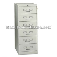 direct factory products economical multi-drawer Metal Office file cabinets / vertical file / 6 drawer