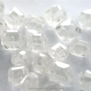 Lab Created Rough Synthetic White Diamond Price Per Carat for Jewelry