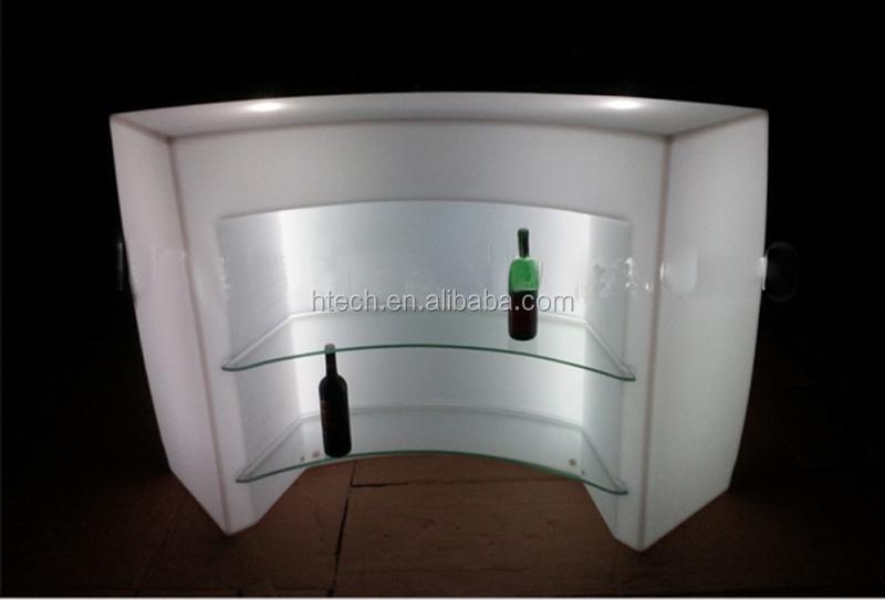 rechargeable led lumineux rond comptoir de bar led bar meubles tables de bar id de produit. Black Bedroom Furniture Sets. Home Design Ideas
