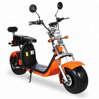2018 citycoco 2000w new big wheel scooter adult electric 2 seat scooter